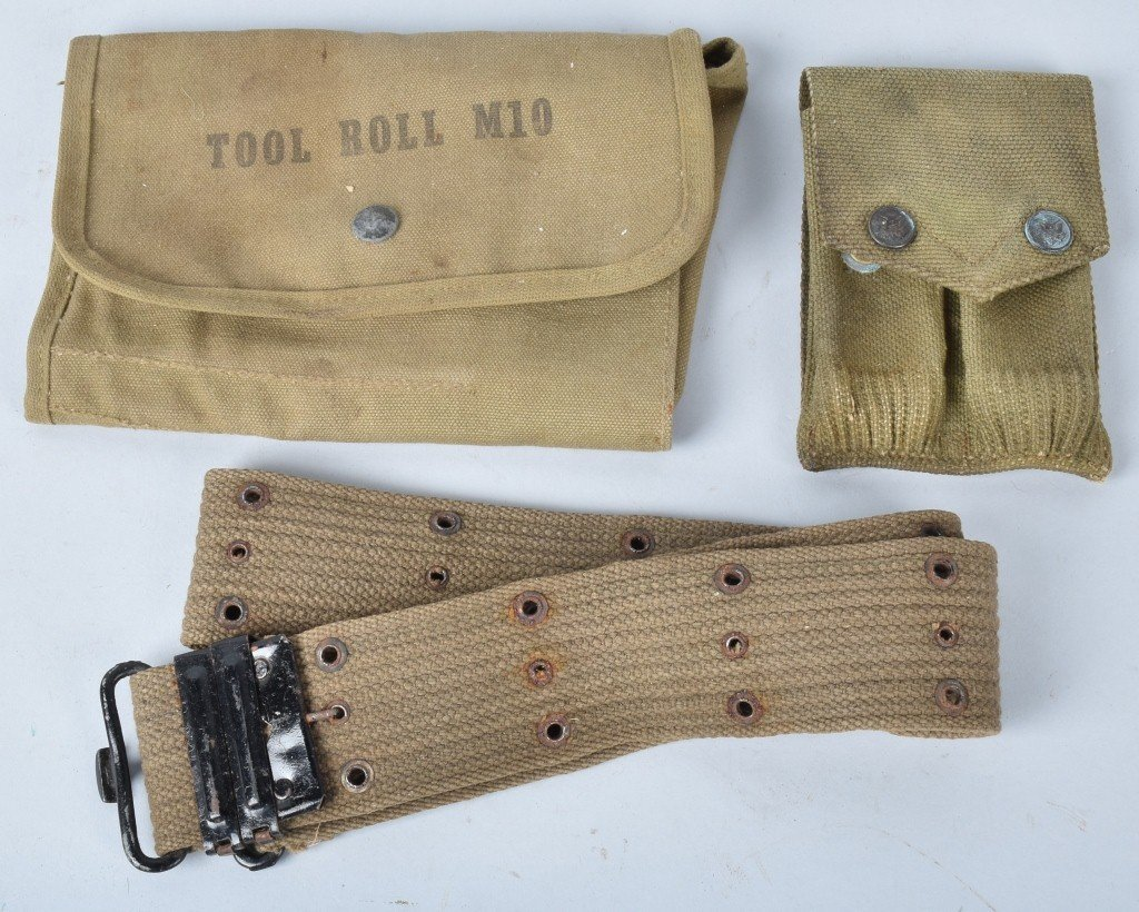 LOT OF WW1 and WW2 CANAVS US MILITARY ITEMS - 5