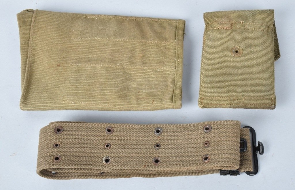 LOT OF WW1 and WW2 CANAVS US MILITARY ITEMS - 6