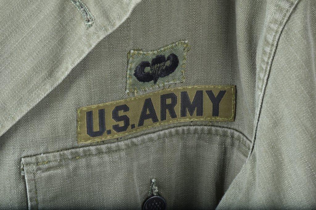 LOT OF 2 U.S.M.C. SHIRTS, 1ST MARINES - 5