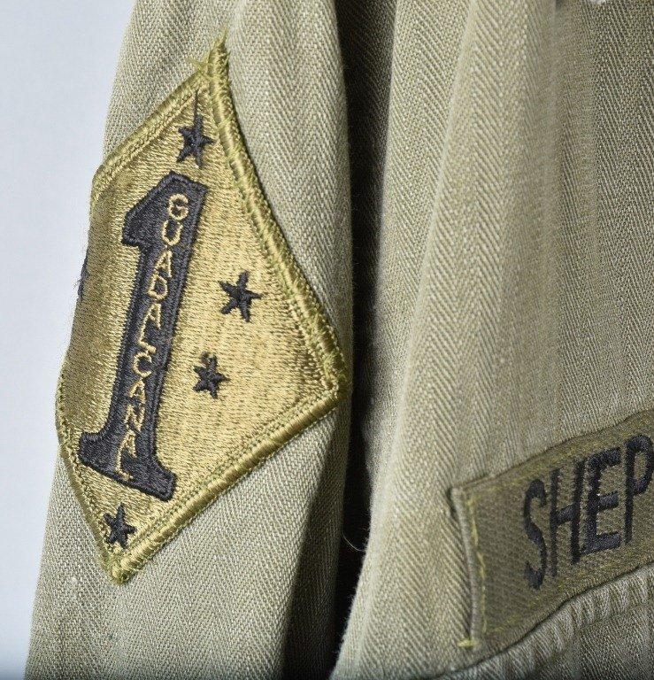 LOT OF 2 U.S.M.C. SHIRTS, 1ST MARINES - 7
