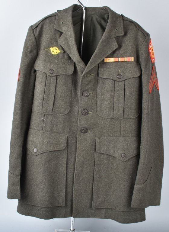 U.S.M.C. FLEET MARINE FORCE, PACIFIC WOOL TUNIC