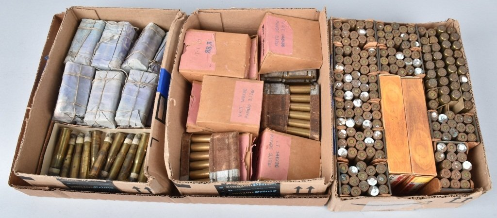 LOT OF AMMUNITION