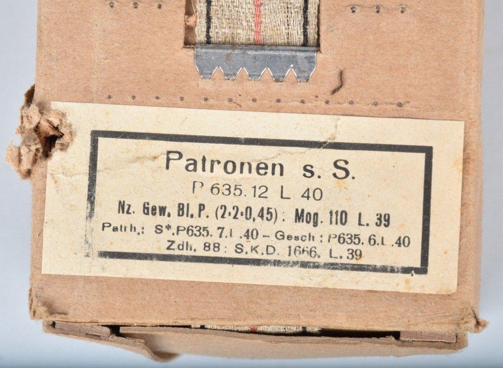 NAZI BATTLE PACK of 8X57 MAUSER AMMUNITION MIB - 4