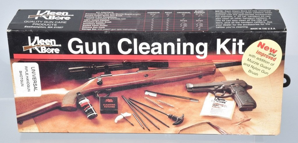 Lot of 3 BORE CLEANING KITS - 2