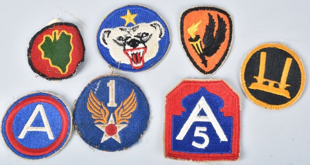 WWII PATCHES, MI CLEANING KIT, RATIONS, & MORE - 4