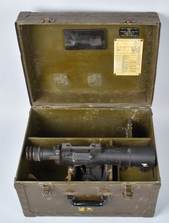 WWII US ARMY INFRARED SNIPERSCOPE w/ BOX