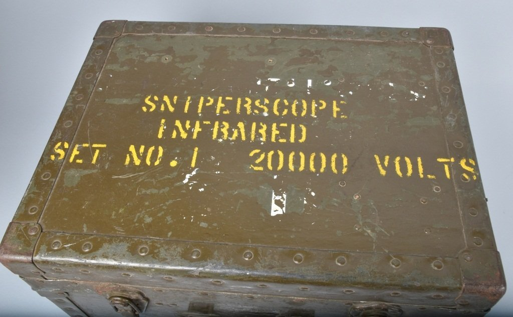 WWII US ARMY INFRARED SNIPERSCOPE w/ BOX - 7