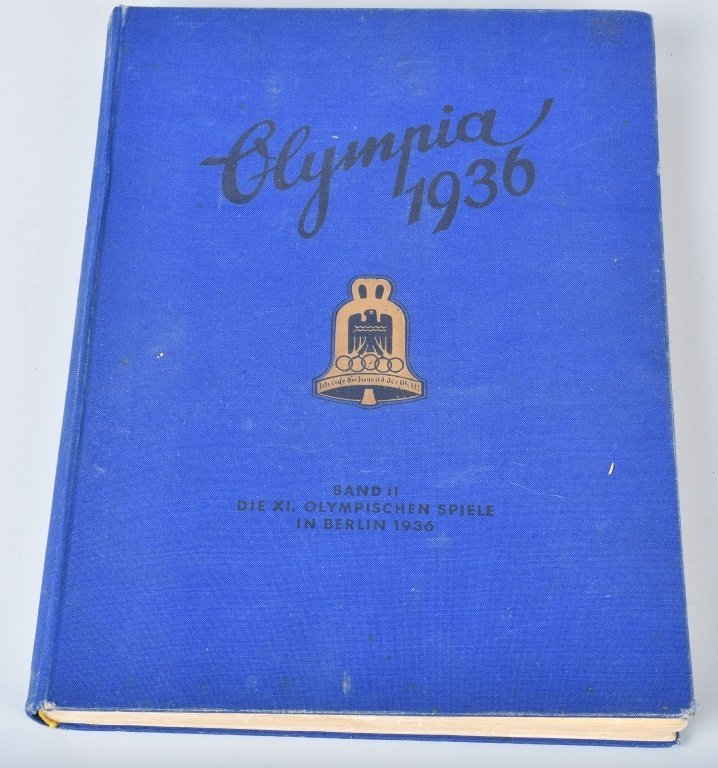 NAZI OLYMPIA 1936 CIGARETTE BOOK II