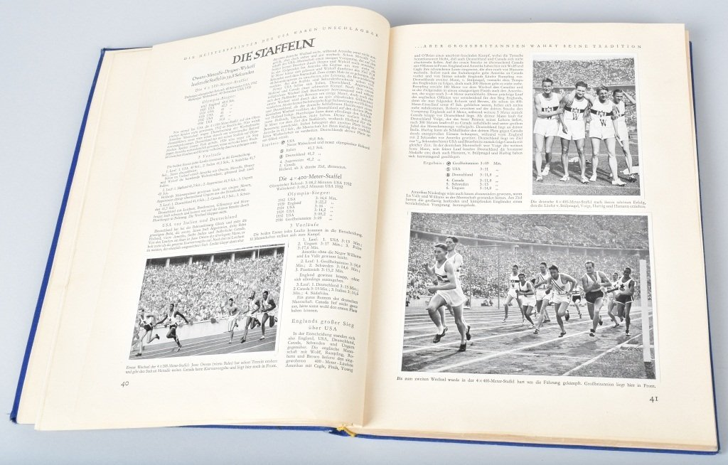 NAZI OLYMPIA 1936 CIGARETTE BOOK II - 2