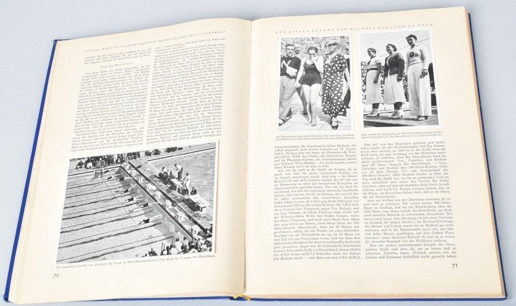 NAZI OLYMPIA 1936 CIGARETTE BOOK II - 3