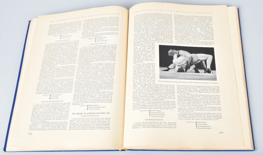 NAZI OLYMPIA 1936 CIGARETTE BOOK II - 4