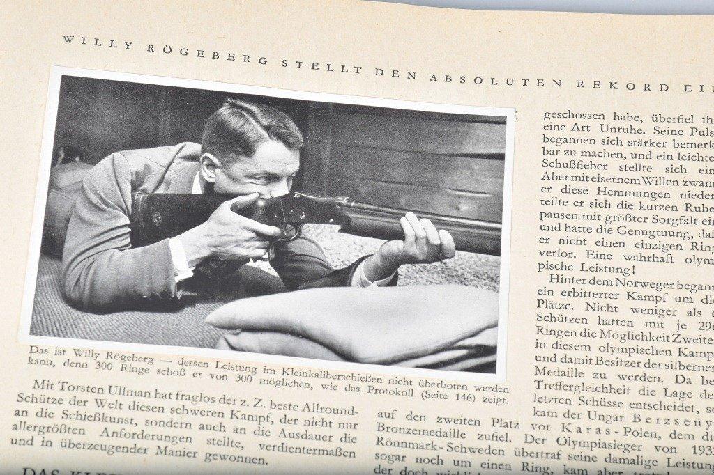 NAZI OLYMPIA 1936 CIGARETTE BOOK II - 6