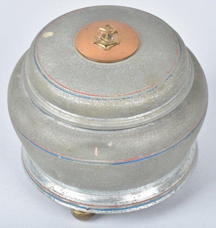 1940s US NAVY MUSIC BOX