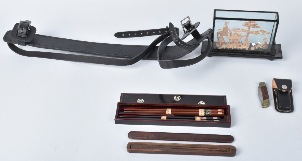 JAPANESE CHOP STICKS, SWORD STRAP and MORE