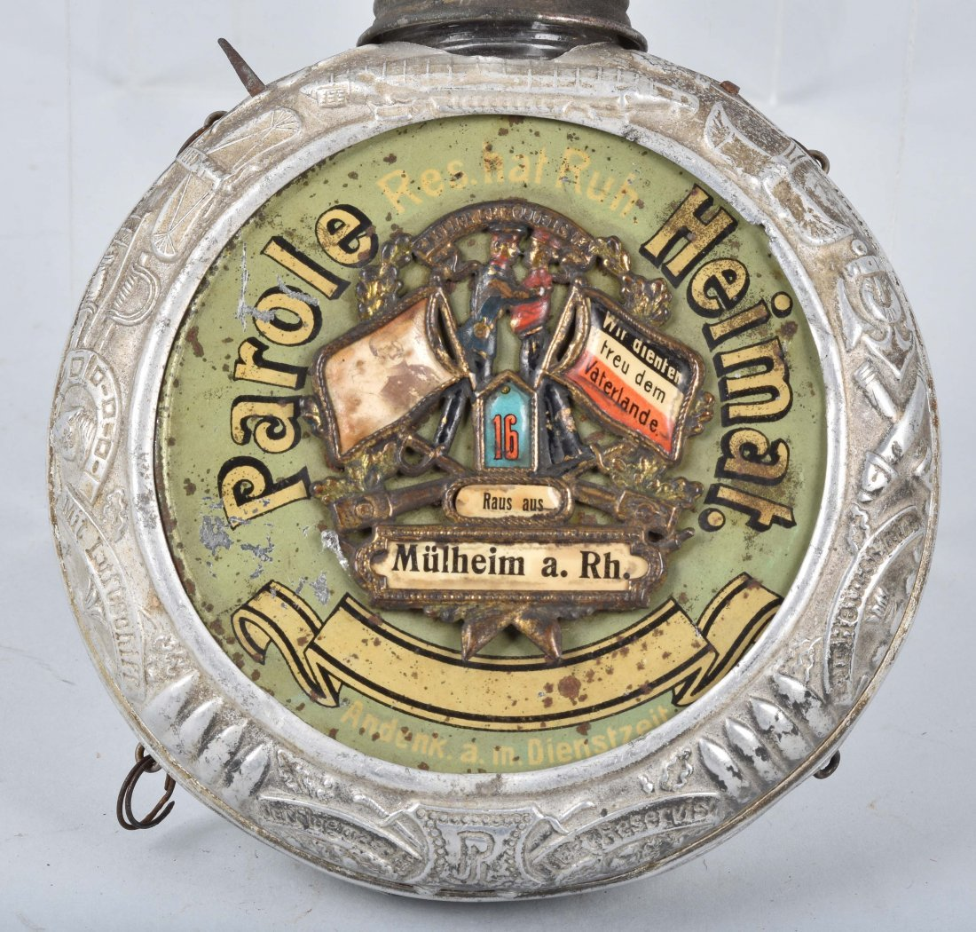IMPERIAL GERMAN AVIATION MILITARY FLASK - 5