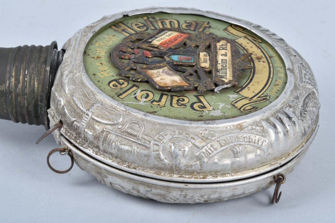 IMPERIAL GERMAN AVIATION MILITARY FLASK - 9