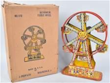 CHEIN Tin Windup FERRIS WHEEL w BOX