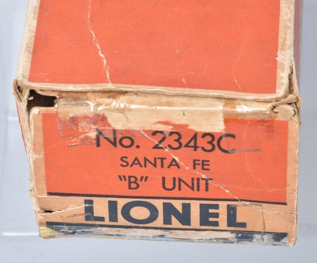 LIONEL #2343 SANTA FE F3 A-B-A UNIT - 4