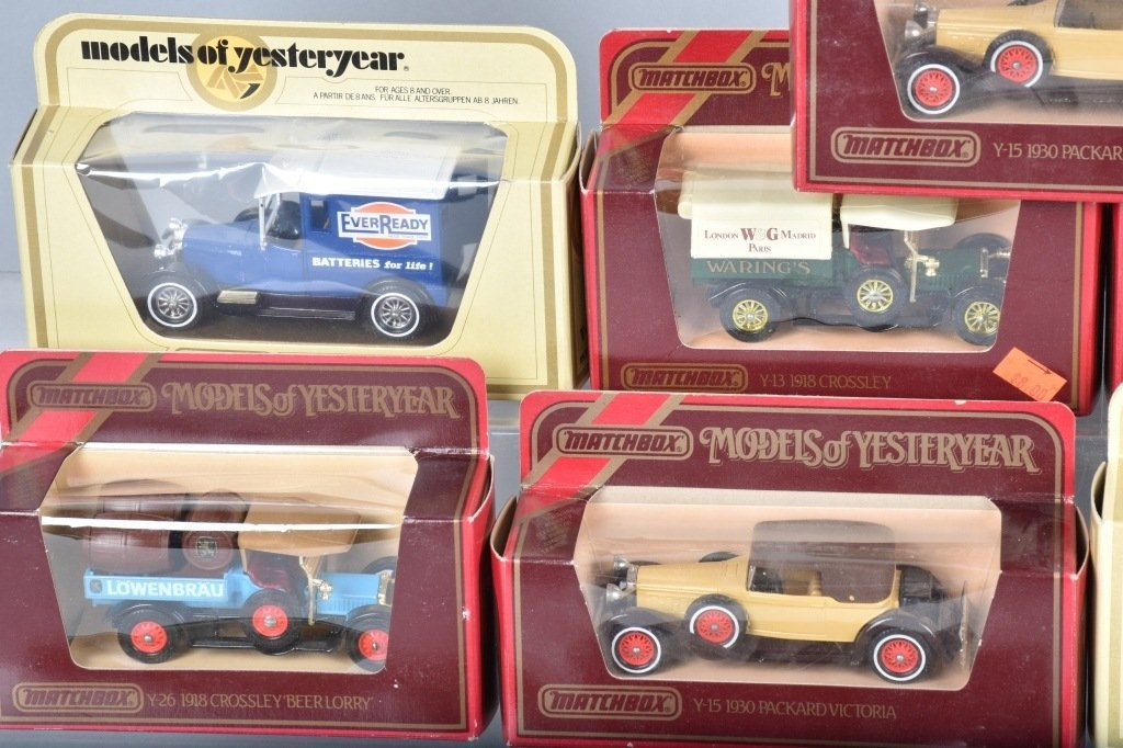 16- MATCHBOX MODELS OF YESTERYEAR CARS MIB - 2