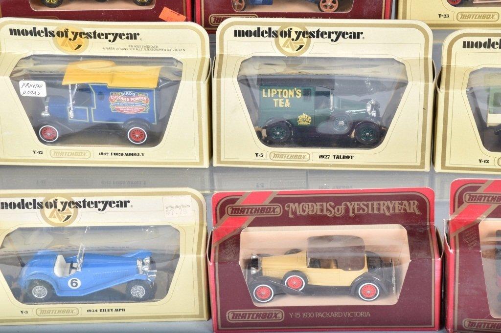 16- MATCHBOX MODELS OF YESTERYEAR CARS MIB - 3