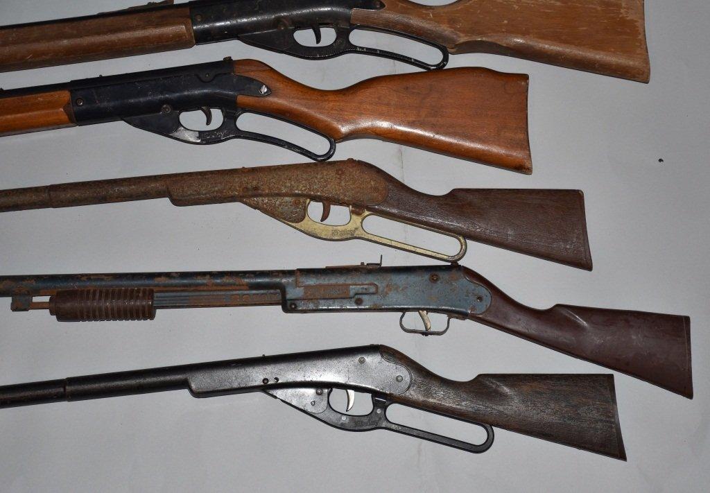 LOT OF 6 VINTAGE BB GUNS - 3