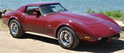 1977 CHEVROLET CORVETTE L48 w/ only 18,000 Miles!