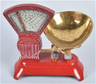 HOWE CAST IRON CANDY STORE SCALE, VINTAGE