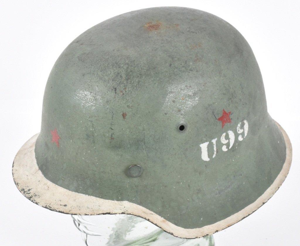 1945 POLISH U99 KAMINSKI BRIGADE HELMET
