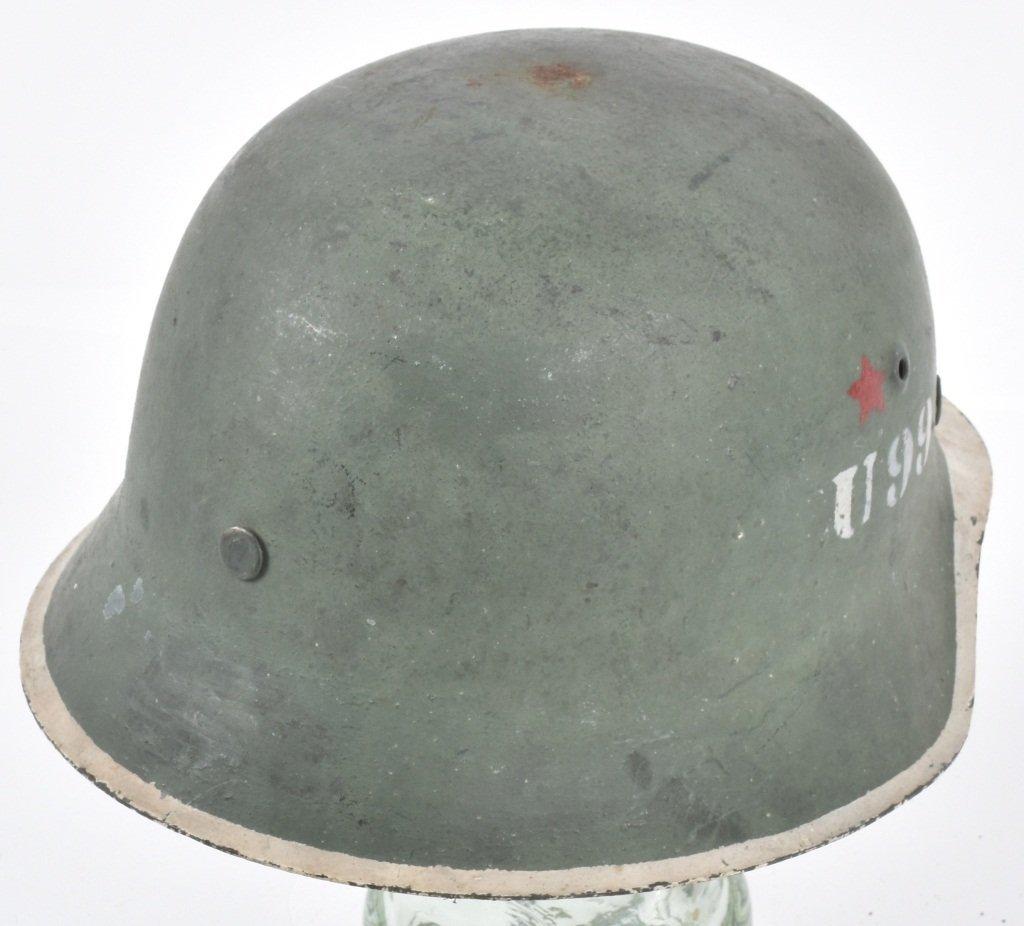 1945 POLISH U99 KAMINSKI BRIGADE HELMET - 2