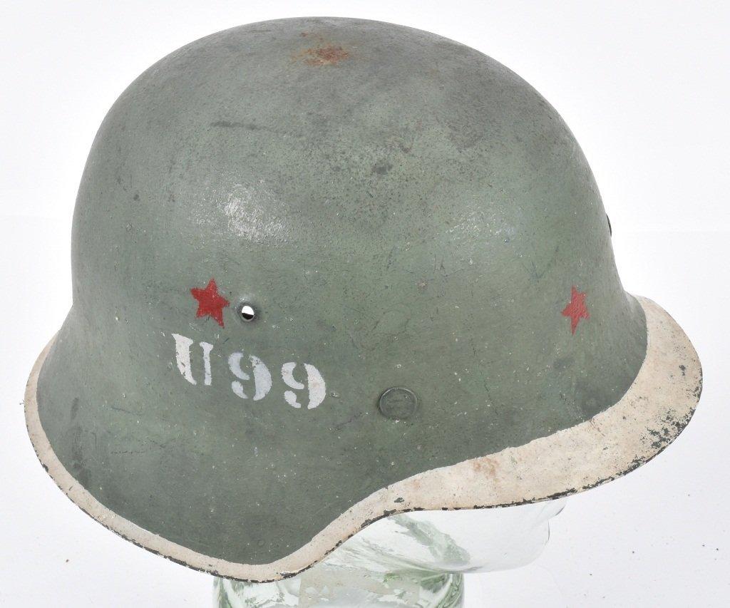 1945 POLISH U99 KAMINSKI BRIGADE HELMET - 3