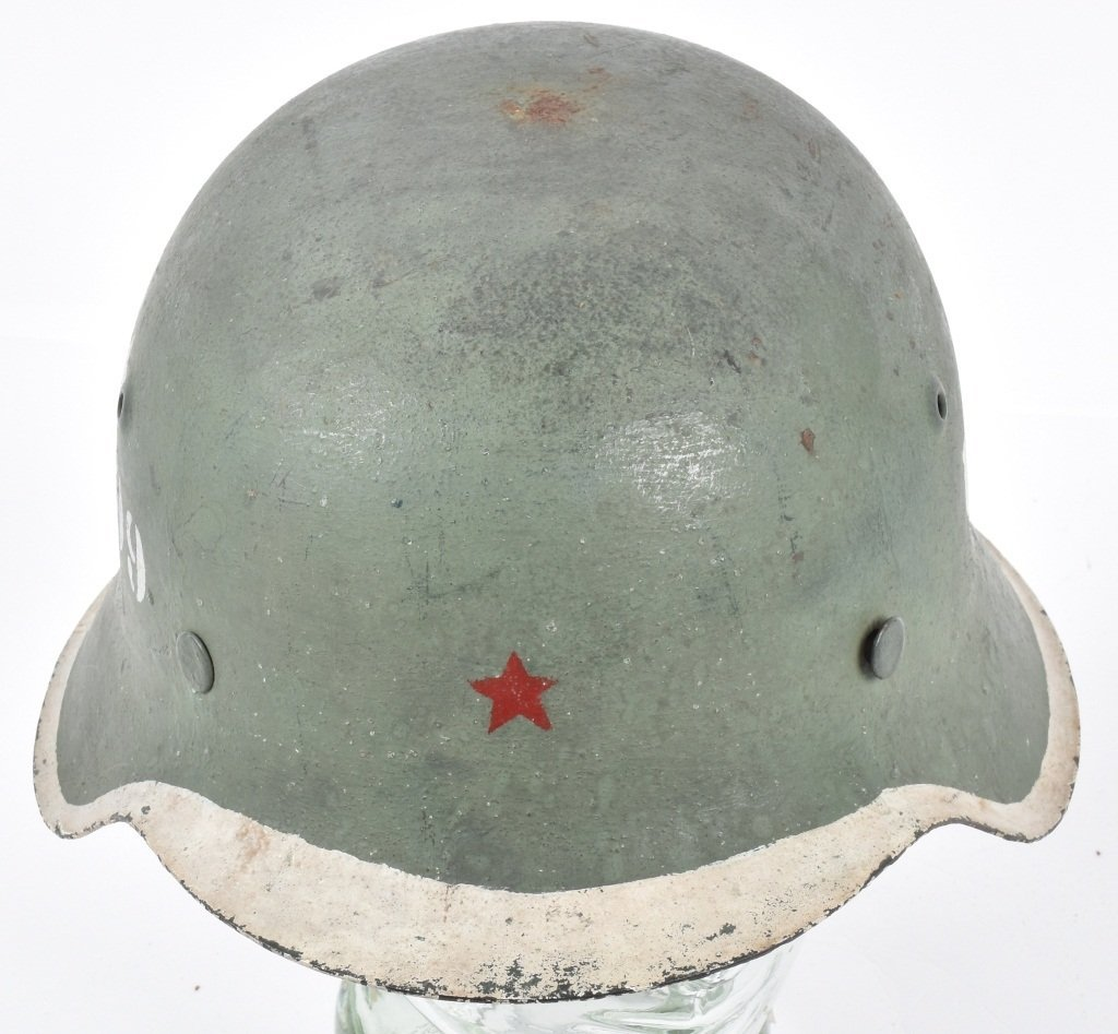 1945 POLISH U99 KAMINSKI BRIGADE HELMET - 4