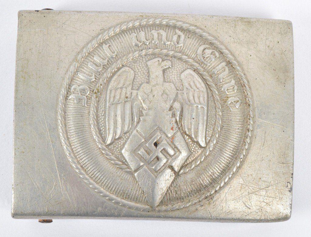 WW2 GERMAN HITLER YOUTH BELT BUCKLE