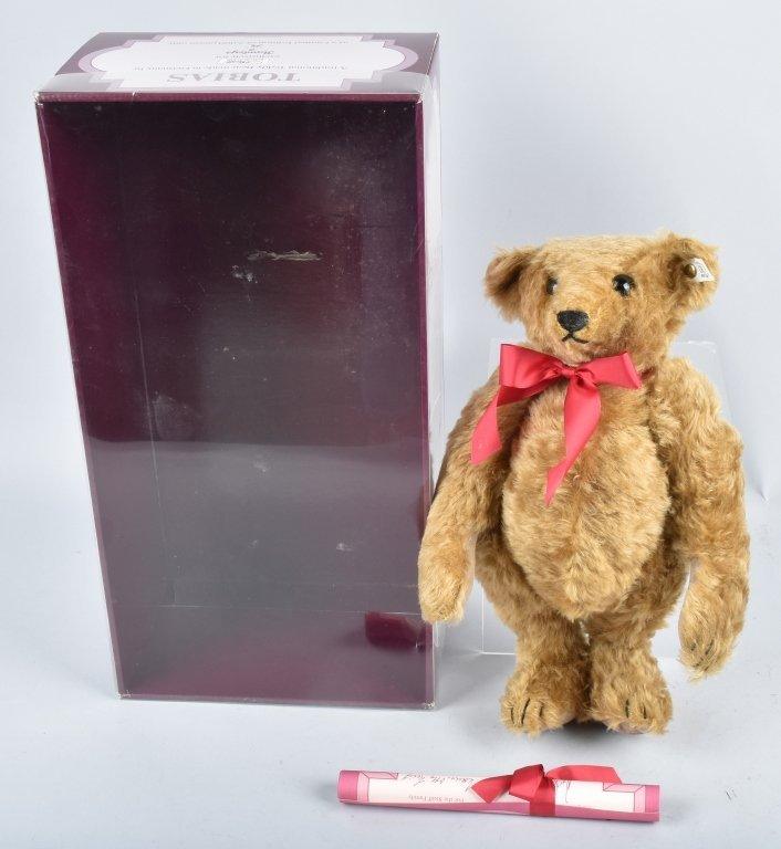 STEIFF HAMLEYS TOBIAS TEDDY BEAR LTD ED NMIB