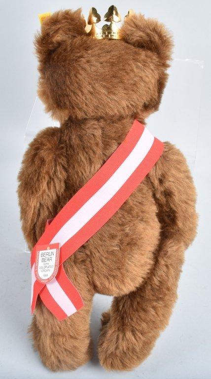 STEIFF BERLIN BEAR NMIB - 4
