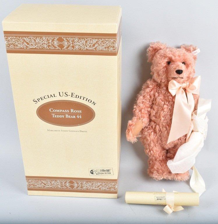 STEIFF COMPASS ROSE TEDDY BEAR NMIB