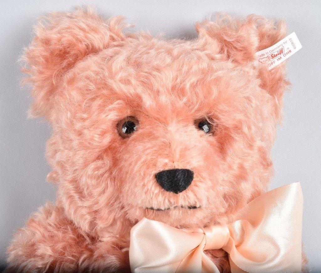 STEIFF COMPASS ROSE TEDDY BEAR NMIB - 2