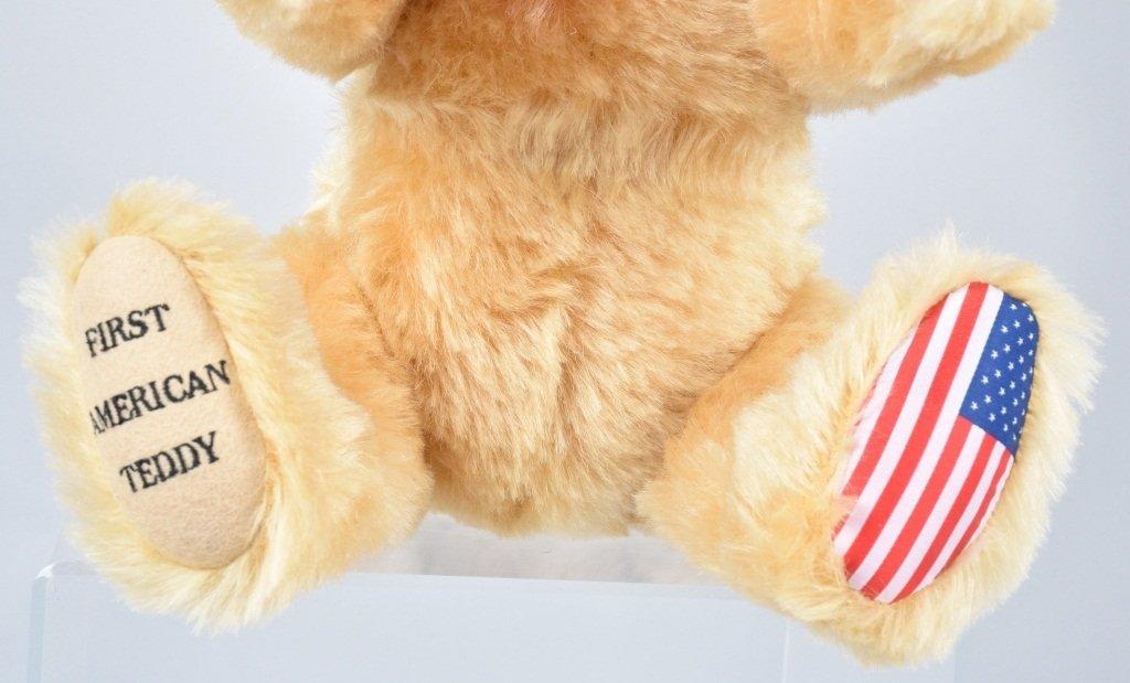 STEIFF 1ST AMERICAN TEDDY LTD ED NMIB - 2