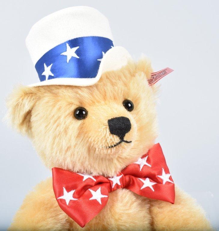 STEIFF 1ST AMERICAN TEDDY LTD ED NMIB - 4