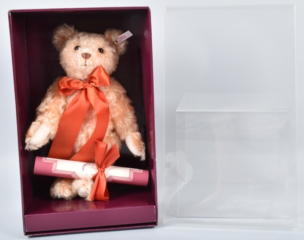 STEIFF HAMLEYS CHESTER BEAR UK EXCLUSIVE NMIB