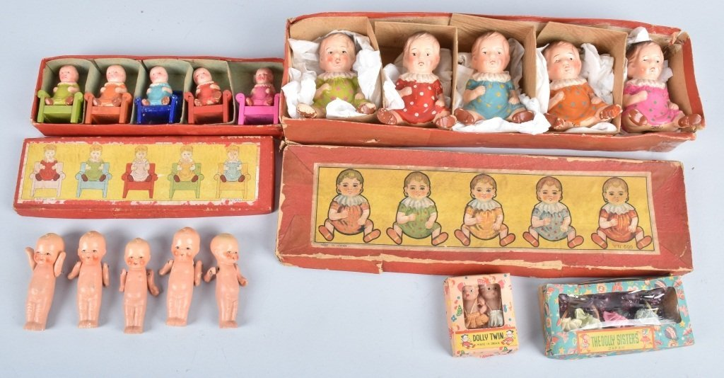 BOXED SETS OF QUINTUPLETS DOLLS