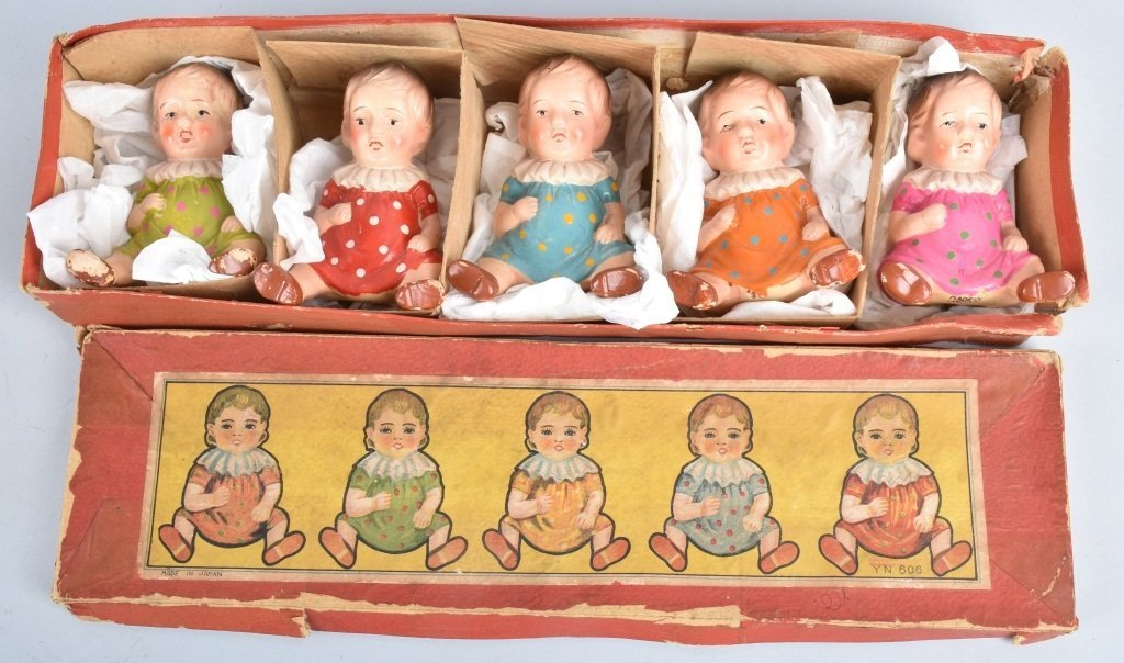 BOXED SETS OF QUINTUPLETS DOLLS - 2