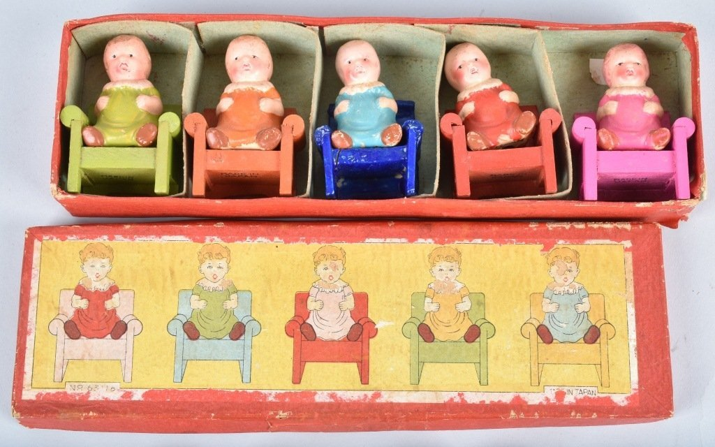 BOXED SETS OF QUINTUPLETS DOLLS - 3