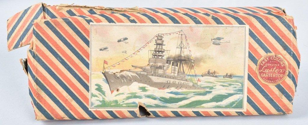 Pre-War Japan WOODEN BATTLESHIP w/ BOX - 4