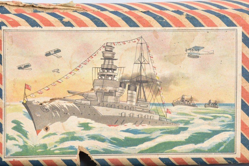 Pre-War Japan WOODEN BATTLESHIP w/ BOX - 5