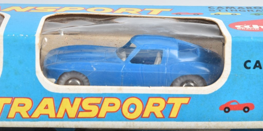 Japan AUTO TRANSPORT w/ CAMARO & CORVETTE w/BOX - 3