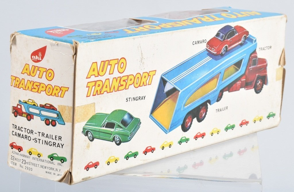Japan AUTO TRANSPORT w/ CAMARO & CORVETTE w/BOX - 4