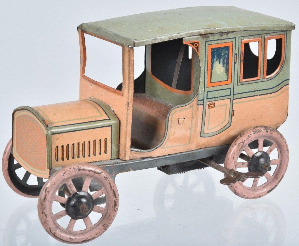 BING GARGE w/ Tin Windup CAR - 2
