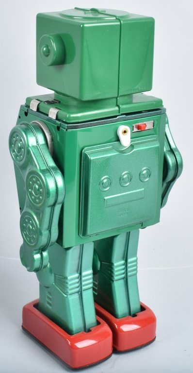 RM JAPAN Battery Op DINO CHANGE ROBOT w/ BOX - 4
