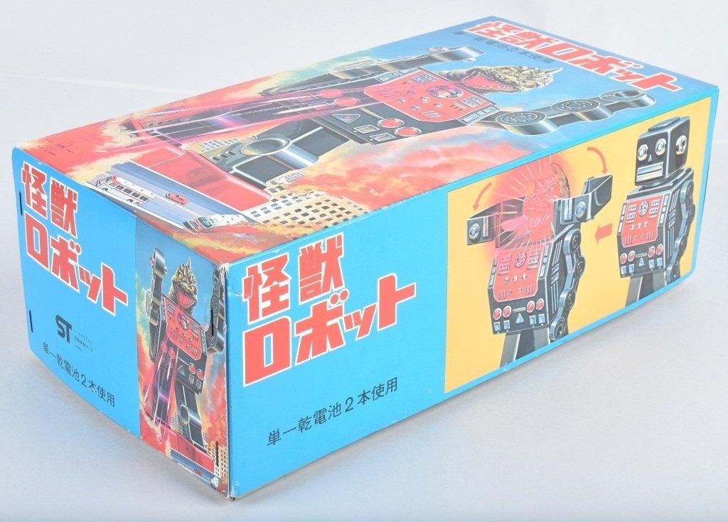 RM JAPAN Battery Op DINO CHANGE ROBOT w/ BOX - 7