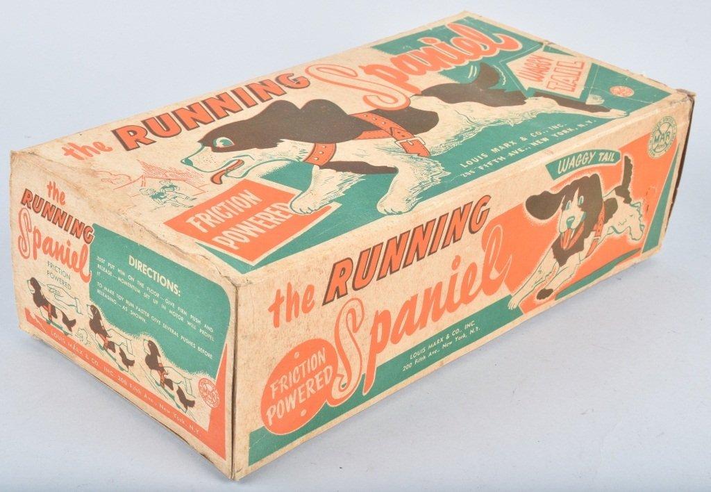 MARX Tin Friction RUNNING SPANIEL w/ BOX - 4
